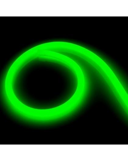 Neon LED PRO 230V 360° Zielony 5m