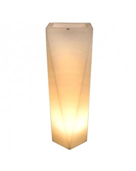 Flower Pot LED Rossa 75 - 90 cm