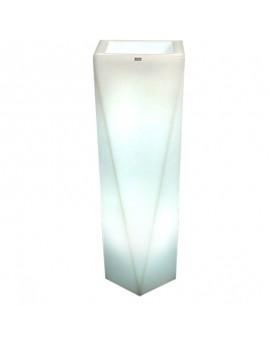 Donica podświetlana LED 75 - 90 cm Nevis biała ciepła