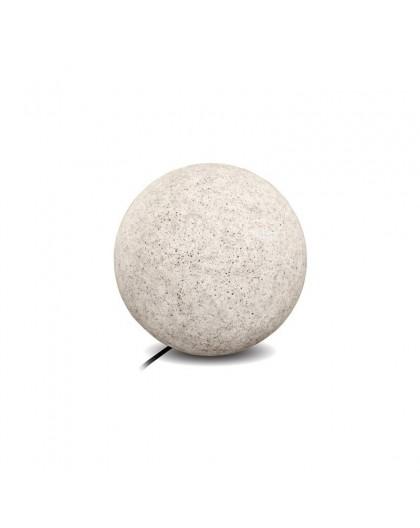 Kula ogrodowa szara Garden Ball S 25 cm