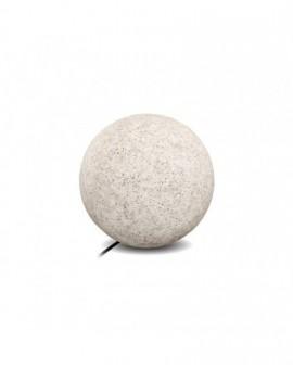 Kula ogrodowa szara Garden Ball M 28 cm