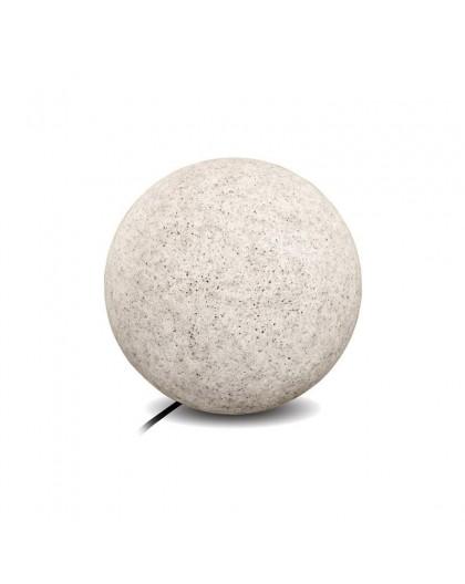 Kula ogrodowa szara Garden Ball L 38 cm