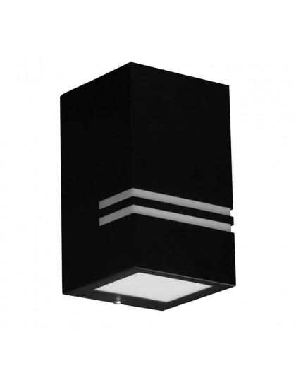 Czarny Kinkiet zewnętrzny Lampa ogrodowa Quazar 11