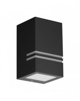 Szary Kinkiet zewnętrzny Lampa ogrodowa Quazar 11