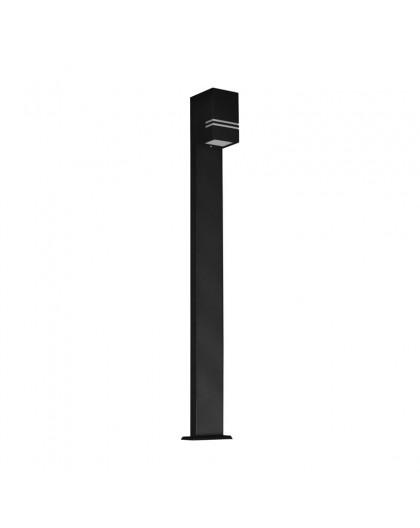 Stojąca lampa ogrodowa Quazar 12 Czarna 100 cm