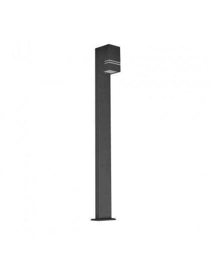 Stojąca lampa ogrodowa Quazar 12 Szara 100 cm