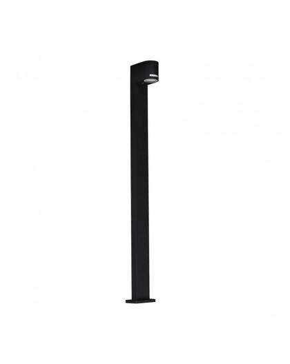 Stojąca lampa ogrodowa Quazar 14 Czarna 100 cm