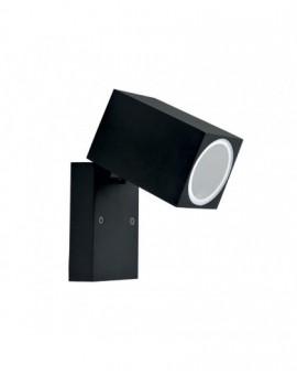 Czarny Kinkiet zewnętrzny Lampa ogrodowa Quazar 15