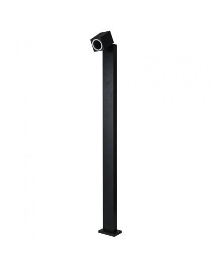 Stojąca lampa ogrodowa Quazar 15S Czarna 100 cm