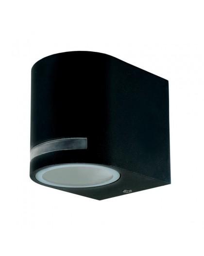 Czarny Kinkiet zewnętrzny Lampa ogrodowa Quazar 8