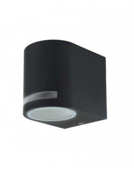 Szary Kinkiet zewnętrzny Lampa ogrodowa Quazar 8