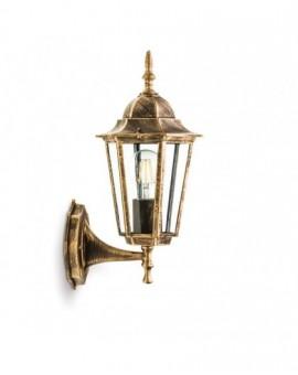 Klasyczny Kinkiet zewnętrzny Lampa ogrodowa LO4101 Złoty