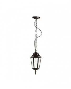 Classic hanging garden lamp LO4105 Black and Gold