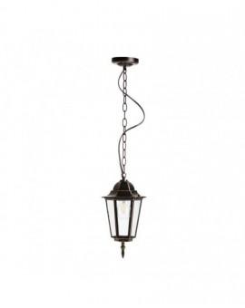 Klasyczna Wisząca Lampa ogrodowa LO4105 Czarno-Złota