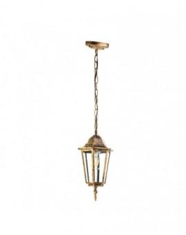 Klasyczna Wisząca Lampa ogrodowa LO4105 Złota