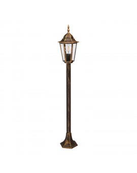 Classic Standing Garden Lamp LO4103 Gold