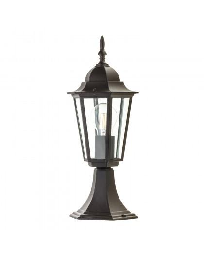 Klasyczna Stojąca Lampa ogrodowa LO4104 Czarna