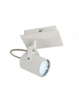 Klasyczna Lampa sufitowa natynkowa Spot Reflektor Arles Biały 1x GU10