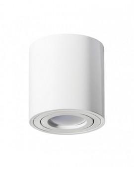 Oprawa natynkowa Spot Lampa sufitowa Okrągła Biała 84 mm