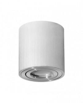 Oprawa natynkowa Spot Lampa sufitowa Okrągła Srebrna Chrome 115 mm