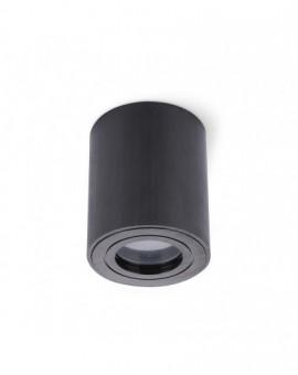 Zewnętrzna Lampa sufitowa Spot Oprawa natynkowa Okrągła Czarna IP44