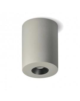 Cementowa Oprawa natynkowa Spot Lampa sufitowa LED 4,2W 3000K Szara Czarna Valle