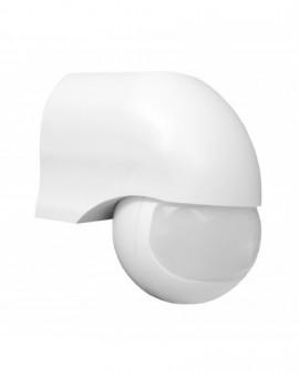 Czujnik ruchu Kulka Biały 180 stopni 12m LX40