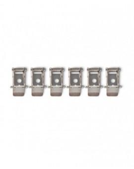 Uchwyty montażowe do Paneli LED 120x30 Nelio karton-gips