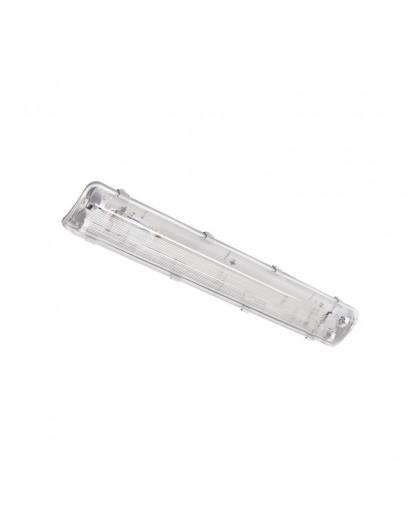 Hermetyczna Oprawa do Świetlówek LED T8 2x60 Podwójna Hermetic
