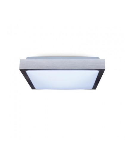 Kwadratowy Plafon Lampa sufitowa 2x E27 Aluminium Samira 30x30