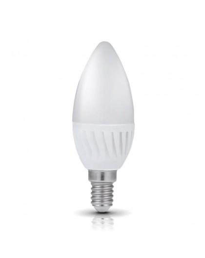 Żarówka LED E14 Świeczka 9W 3000K Biała Ciepła Premium