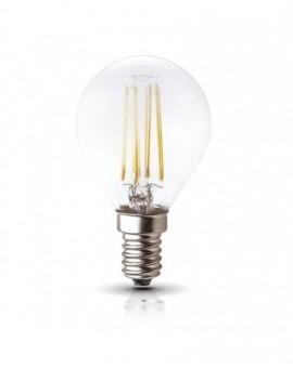 Żarówka LED Filament Bańka E14 4W 3000K Biała Ciepła