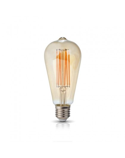 Żarówka LED Filament E27 7W Łezka ST64 2700K Vintage