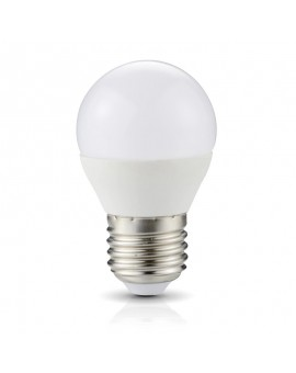 Żarówka LED E27 Bańka 4,5W 6000K Biała Zimna