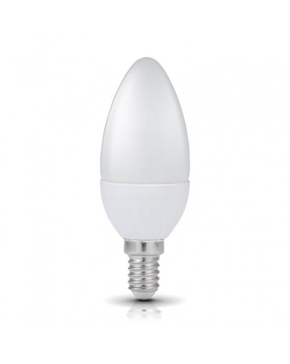 Żarówka LED E14 Świeczka 6W 3000K Biała Ciepła
