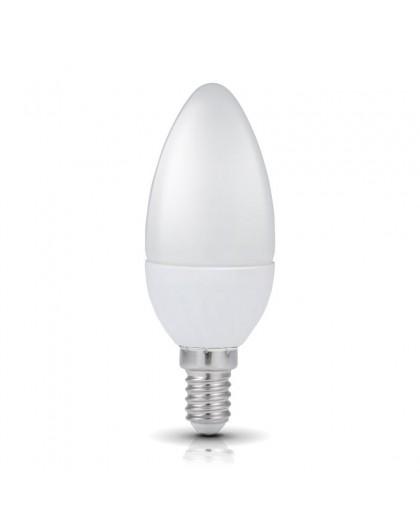 Żarówka LED E14 Świeczka 4,5W 6000K Biała Zimna