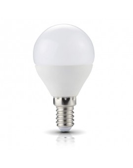Żarówka LED E14 Bańka 4,5W 6000K Biała Zimna