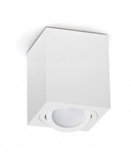 Oprawa natynkowa Spot Lampa sufitowa Kwadratowa Biała 115 mm