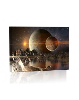Foreign planet DESIGN Lamp backlit