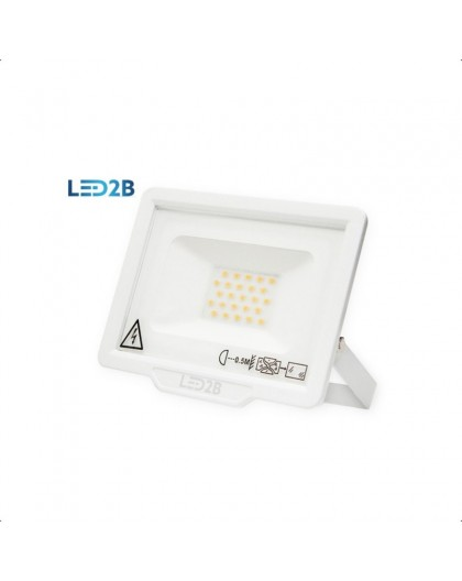 Naświetlacz LED MH 20W Biały Biała zimna 6000K