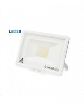 Naświetlacz LED MH 30W Biały Biała ciepła 3000K