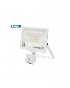 Naświetlacz LED MHC z czujnikiem ruchu 20W Biały Biała zimna 6000K