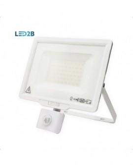 Naświetlacz LED MHC z czujnikiem ruchu 50W Biały Biała ciepła 3000K