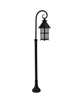 Lampa stojąca zewnętrzna Toledo słupek ogrodowy 116 cm