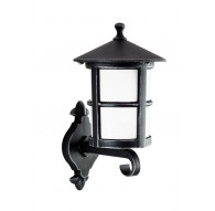 Classic outdoor wall lamp Cordoba Black wall lamp