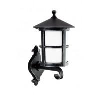 Klasyczny Kinkiet zewnętrzny Cordoba Czarny lampa ścienna