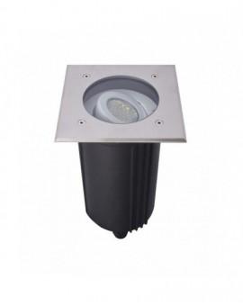 Trwała regulowana lampa najazdowa Mix kwadratowa aluminium