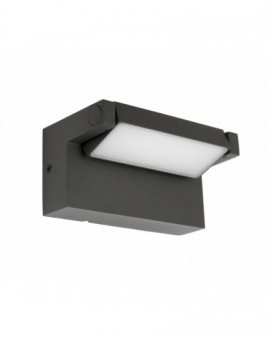 Nowoczesny kinkiet zewnętrzny LED lampa elewacyjna z regulacją Rota