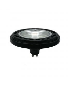 Czarna żarówka LED ES111 15W 30° DIM Ściemnialna 4000K