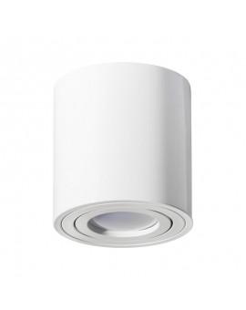 Oprawa natynkowa Spot Lampa sufitowa Okrągła Biała 115 mm